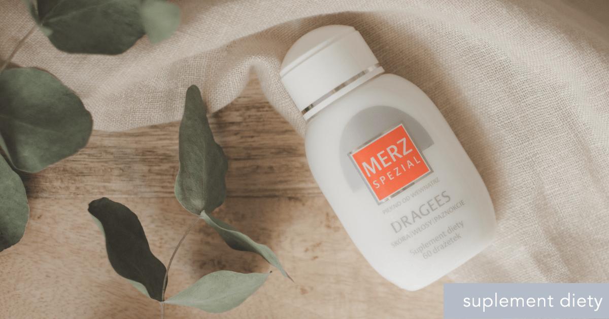 witaminy na skórę - Merz Spezial Dragees