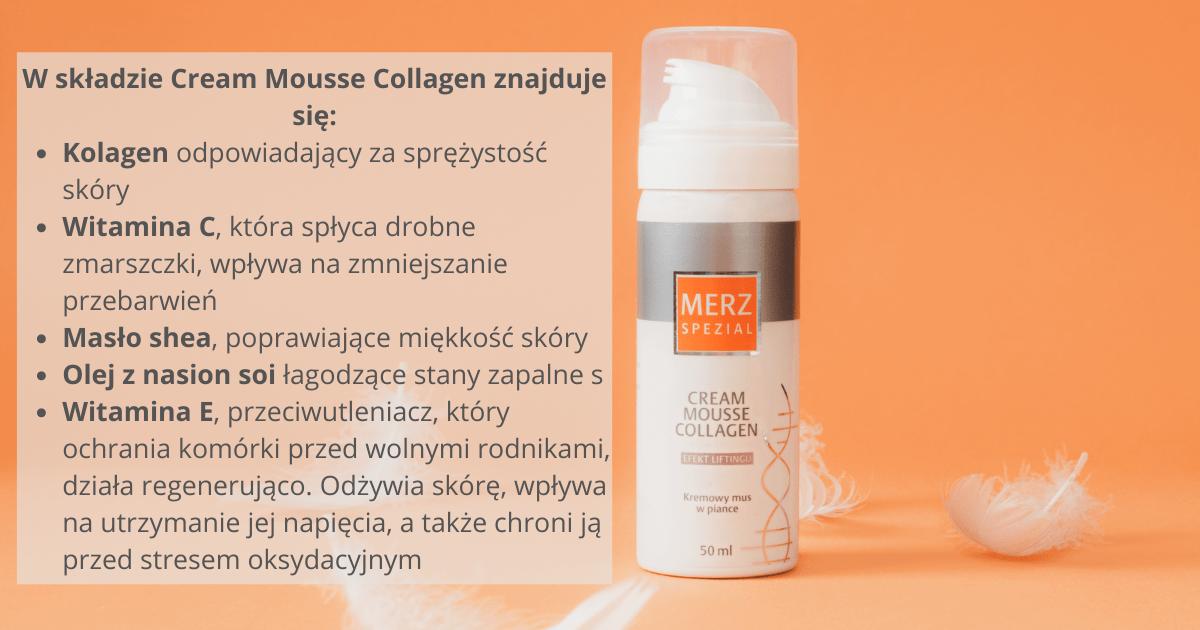 Merz Spezial Cream Mousse Collagen