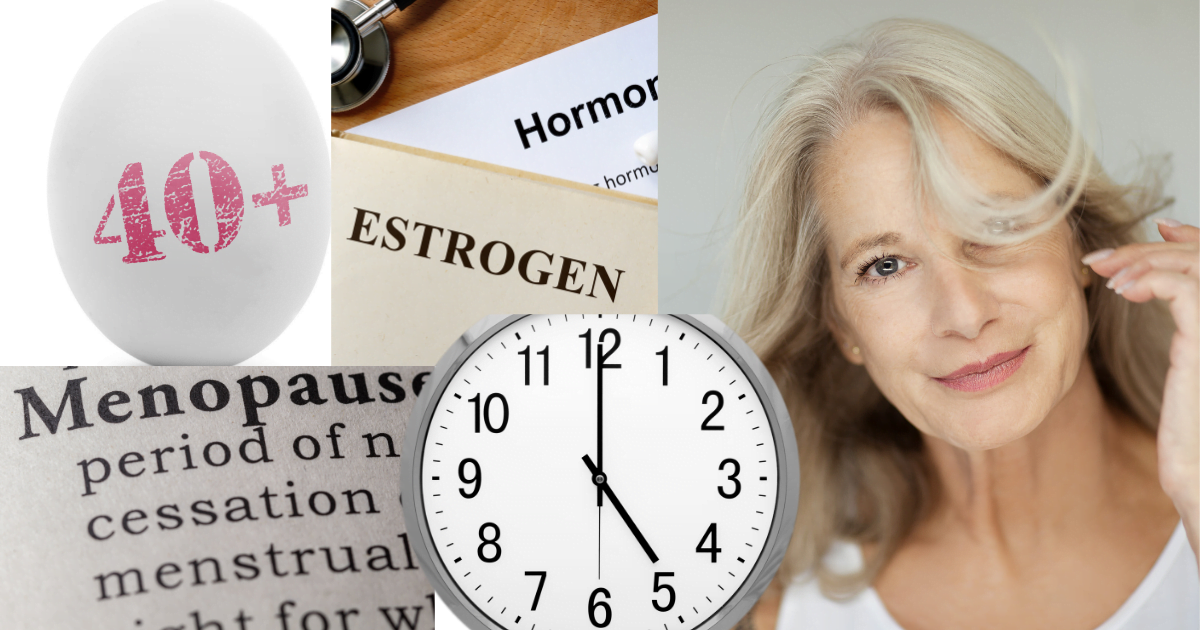 wypadanie włosów - menopauza