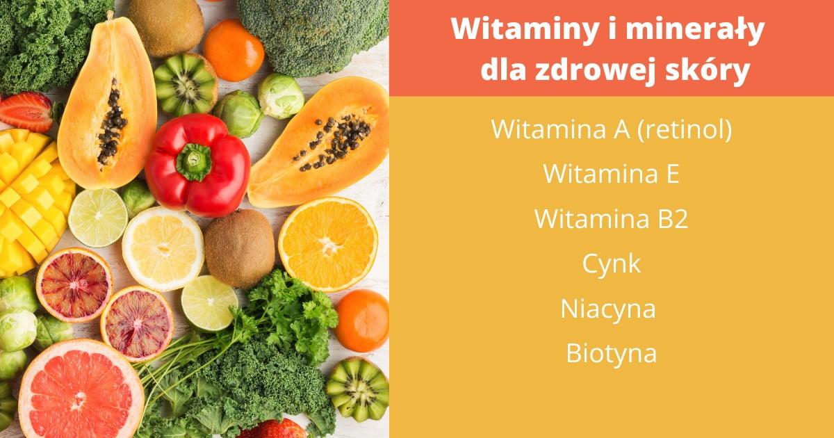 witaminy dla zdrowej skóry